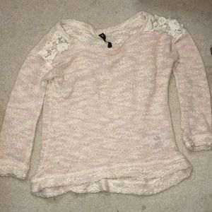 Light pink thin sweater